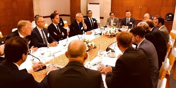 07/10/19 - Visit Dutch Prime Minister to Indonesia