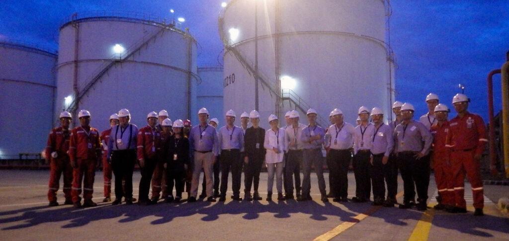 14/11/18 - Company visit | to Vopak Tanjung Priok