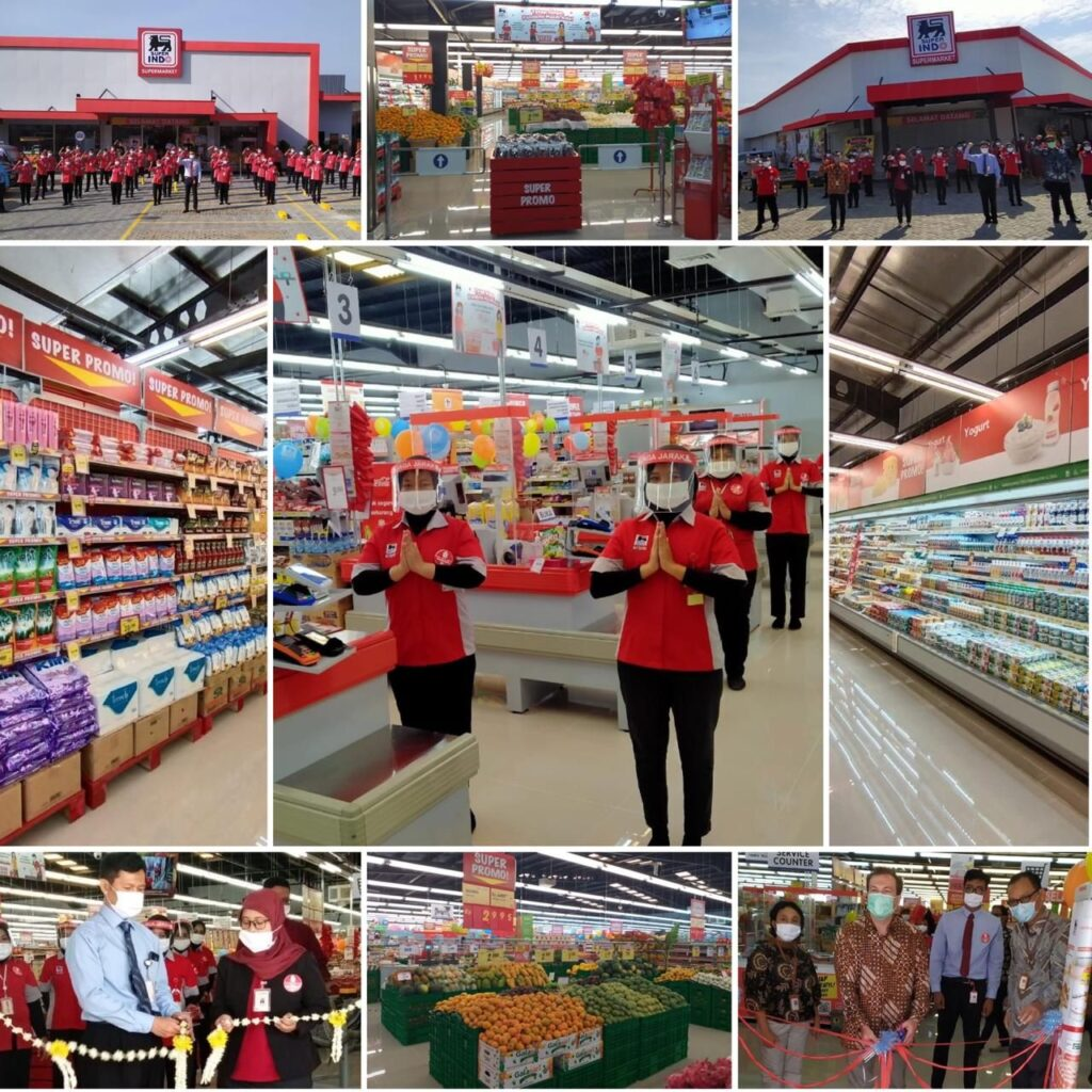 Super Indo opens supermarket number 185 and 186